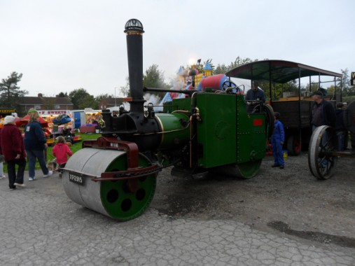 Evening End of Season Steam Up