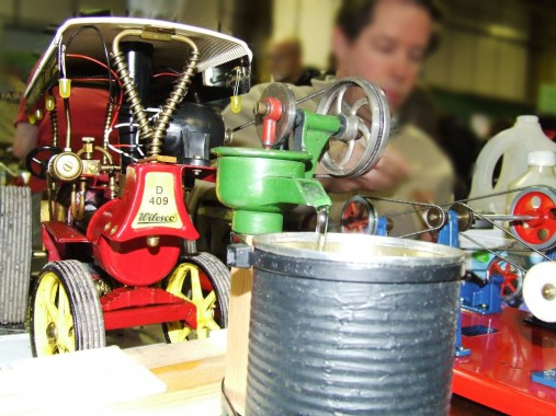 Christmas Toys & Steam Day