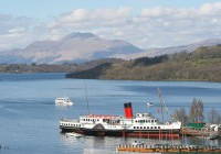 Paddle Steamer – Maid of the Loch