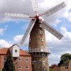 The Maud Foster Mill in Boston, Lincolnshire, built 1819 and still earning its daily living by wind-power