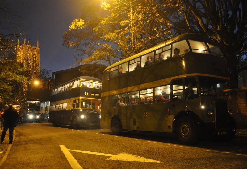 November 'Open Day' twilight bus tour