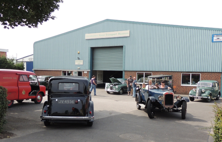 Car Running Day at the Museum