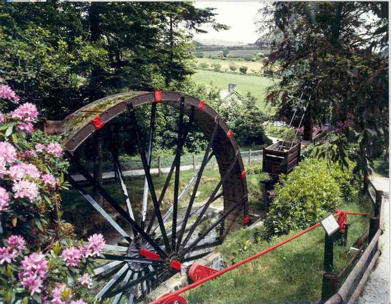 Cornwall's largest working waterwheel