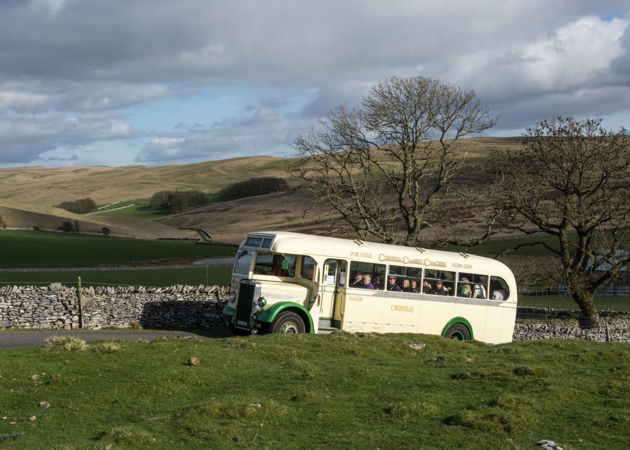 Bus on the fells