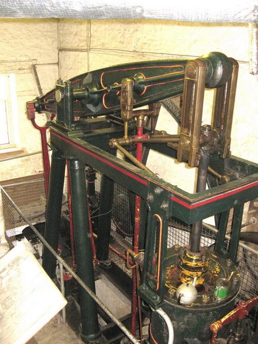 Combe Mill steam beam engine