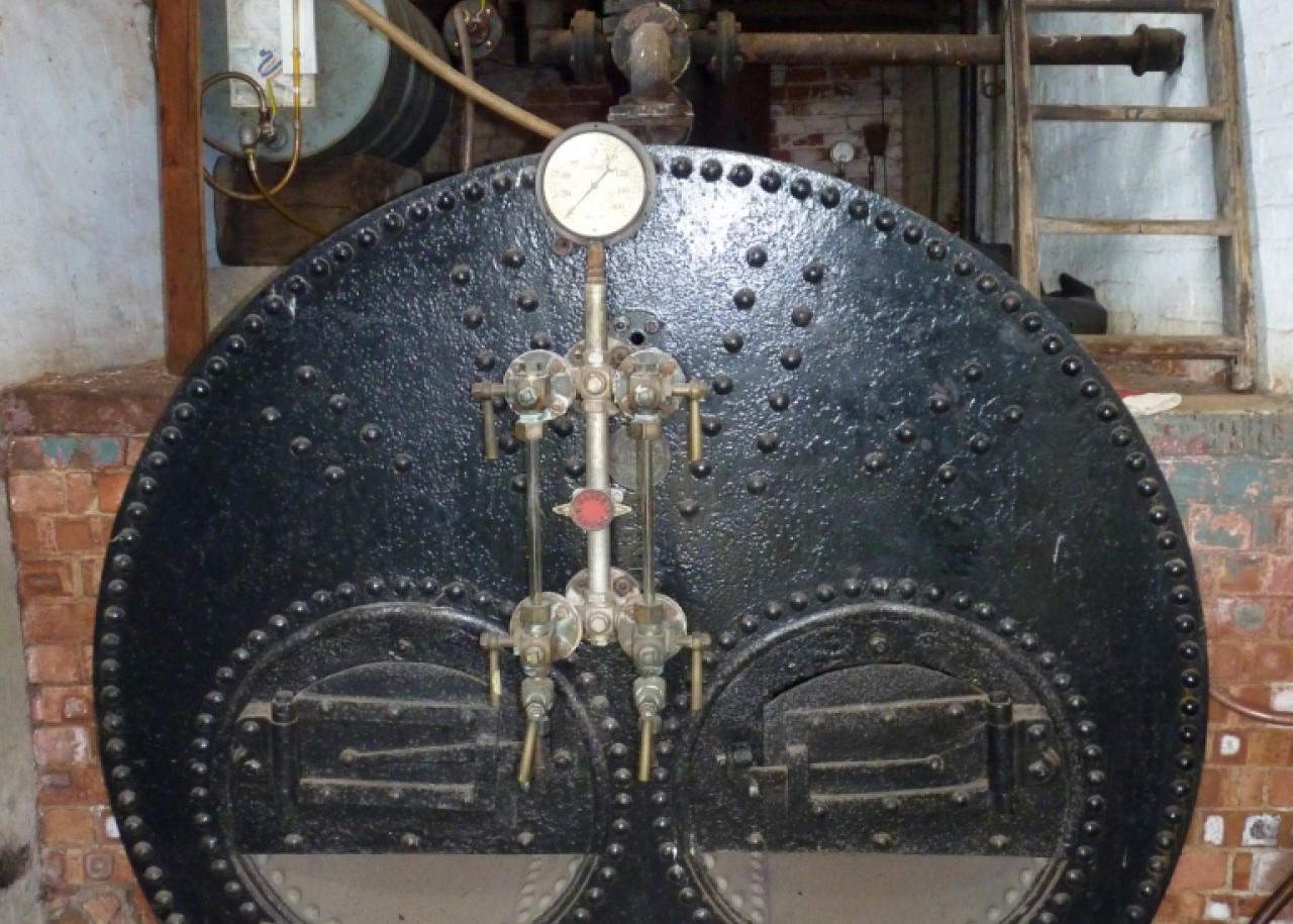 Boiler by Wm Foster, Lincoln, 1909