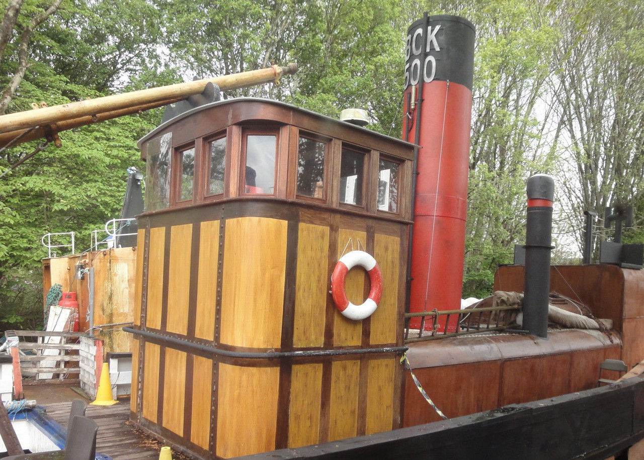 Buckie Steam Drifter at Ship Space Inverness