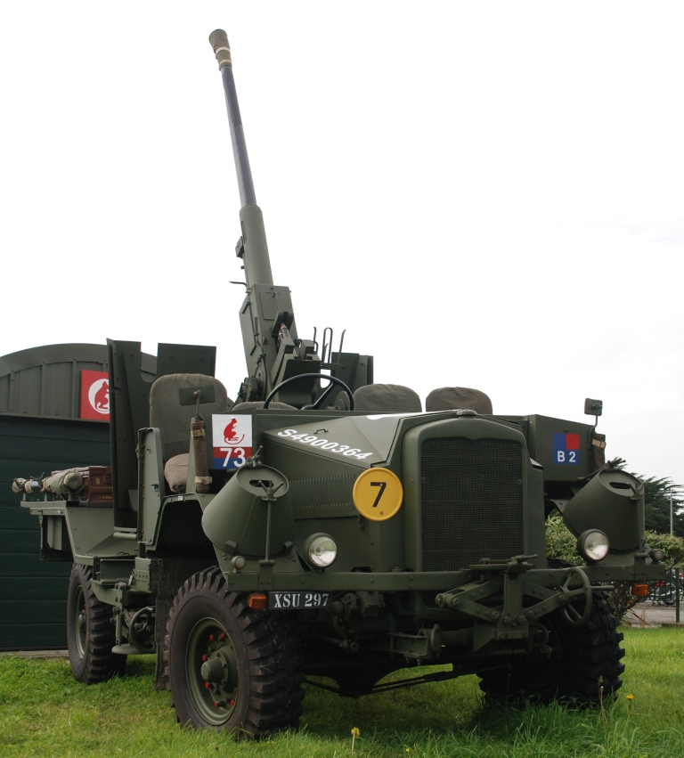 The Morris-Commercial C9B self-propelled Bofors gun