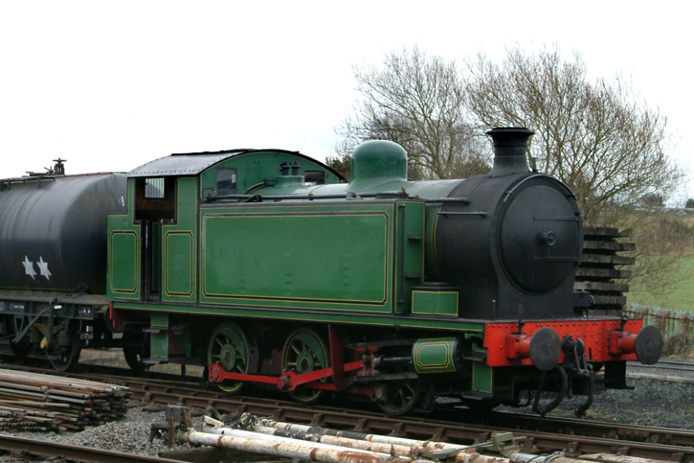 Latest Arrival RSH0-6-0t Meaford No.2-Bob Andersson