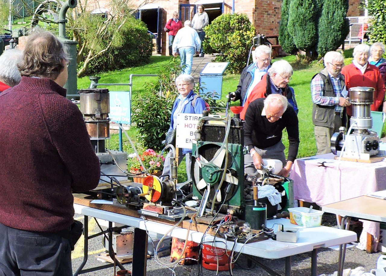 The Stirling Engine rally is a chance to see enigmatic hot air engines from across the UK.