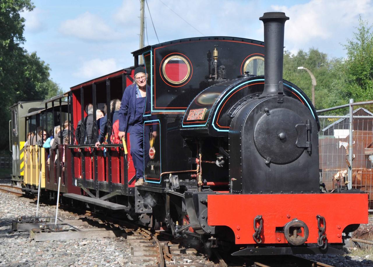 Kerr Stuart steam loco