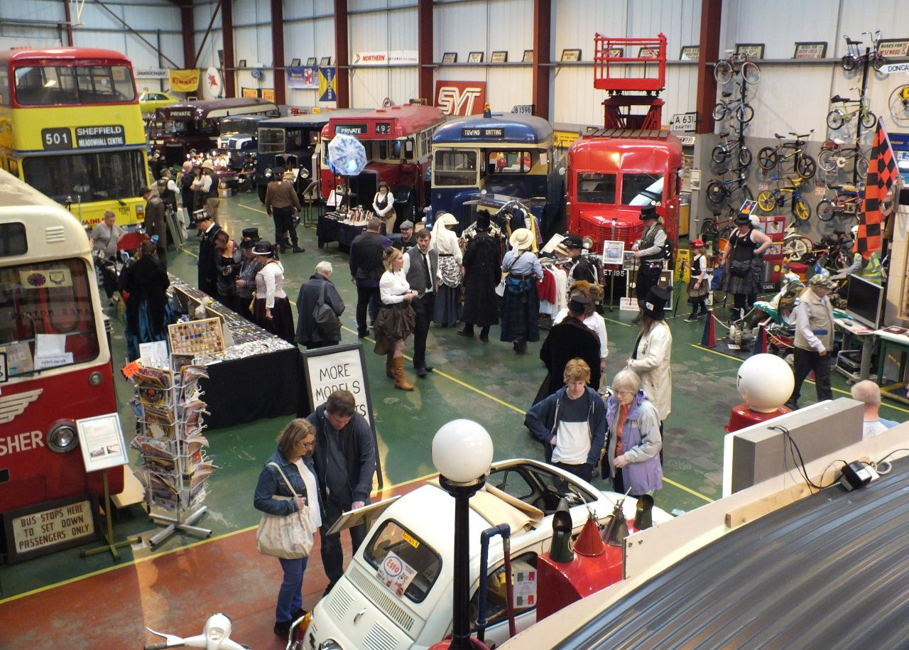 Open Day at South Yorkshire Transport Museum