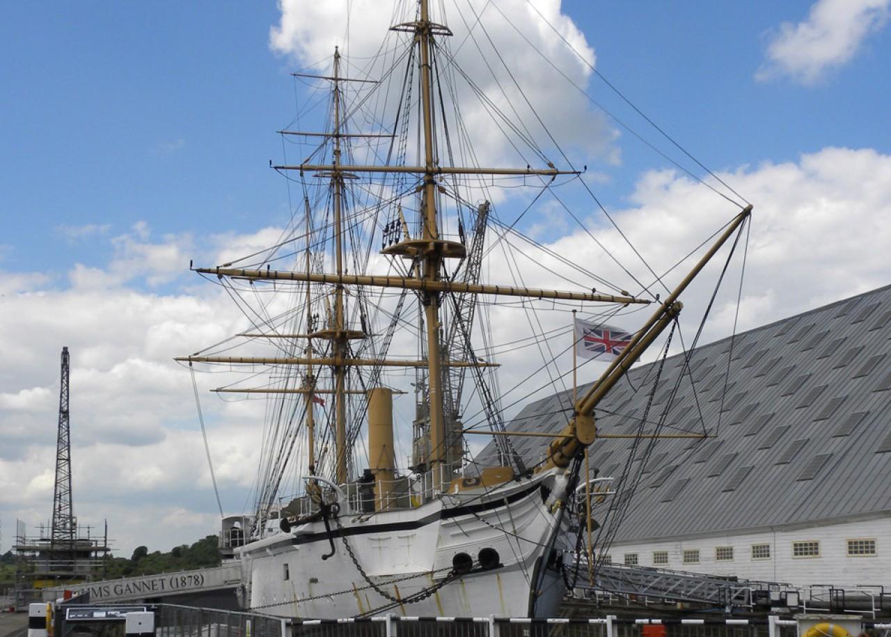 HMS Gannet 1878