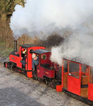 Double headed santa train