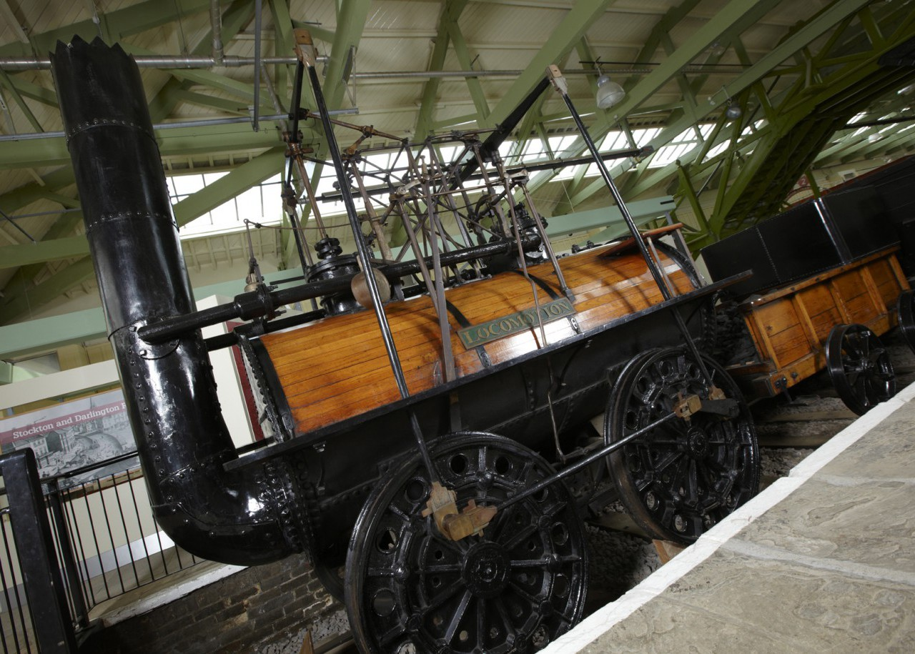 Locomotion No. 1 (on loan from NRM)