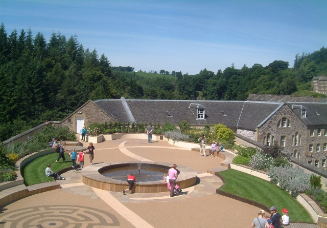 New Lanark Roof Garden - Scotland's largest