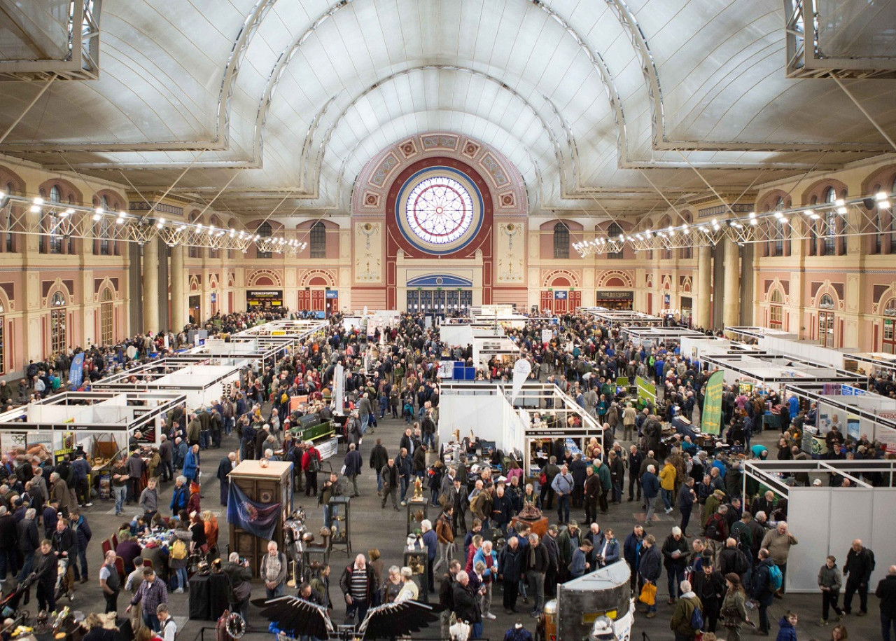 London Model Engineering Exhibition, London - Steam Heritage