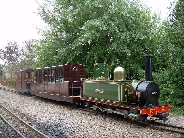 Vintage train at Perrygrove