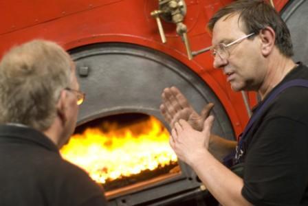 Original Lancashire boilers.