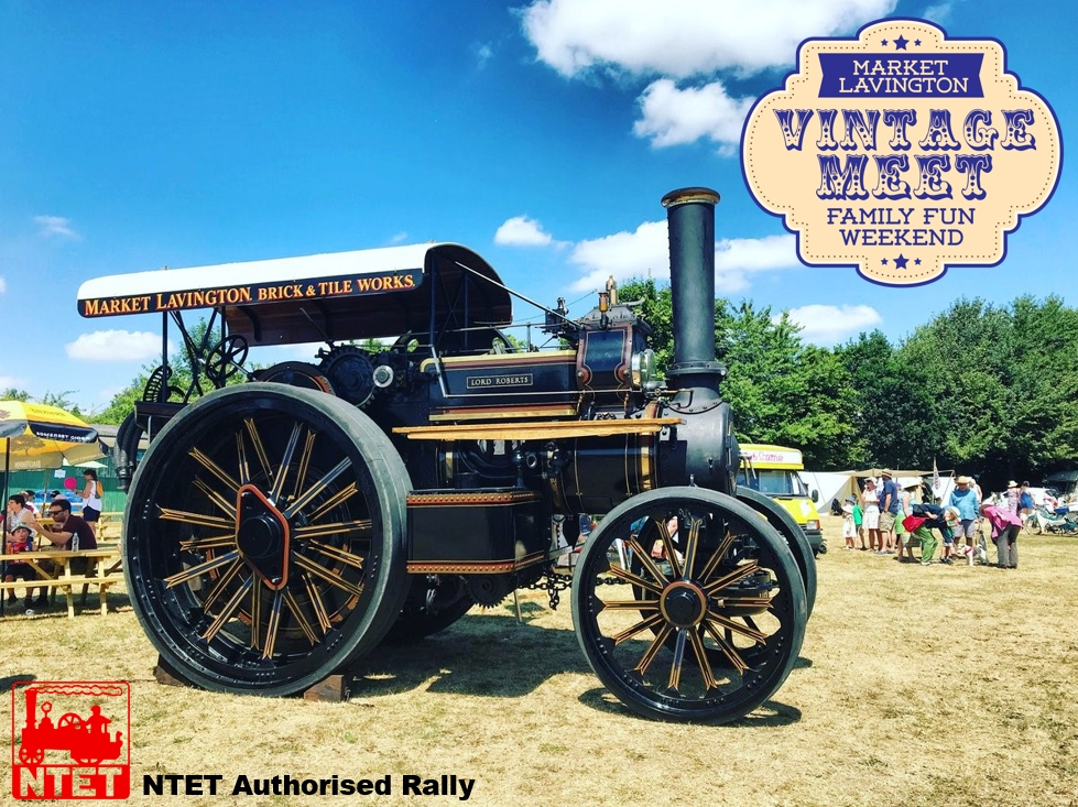 Lord Roberts will be celebrating her 120th anniversary with us and we are now an NTET Authorised Rally