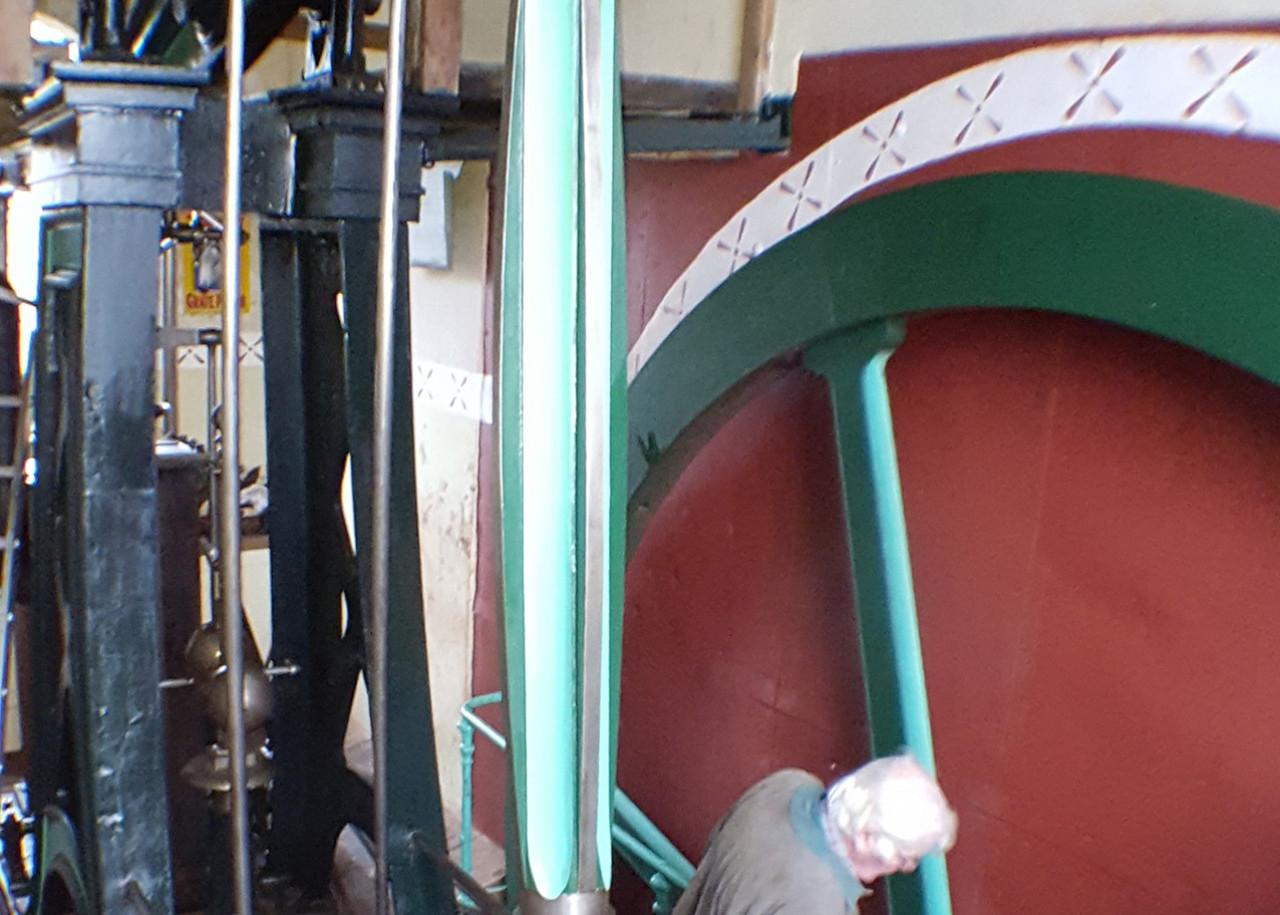 Bradley and Craven 1855 steam engine