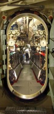 Walk through HMS Alliance with our submariner guide