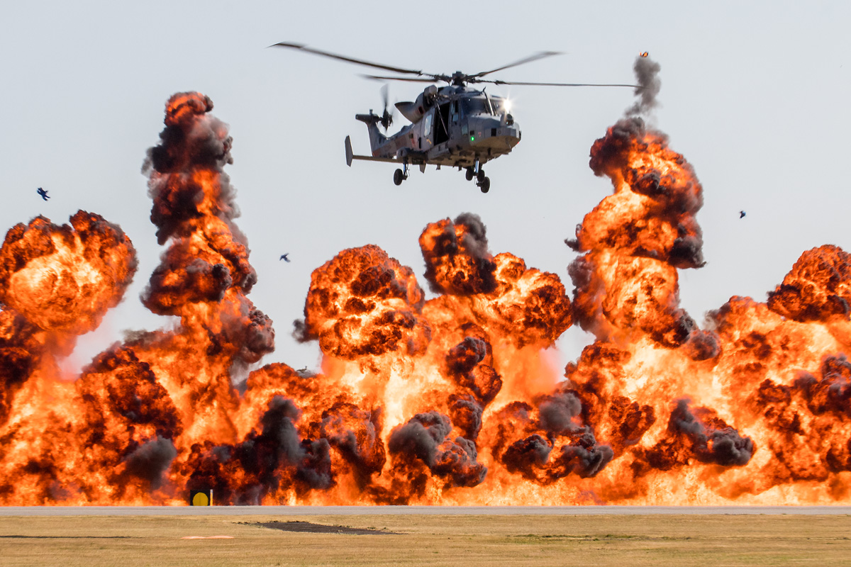 Wall of Fire © Paul Johnson