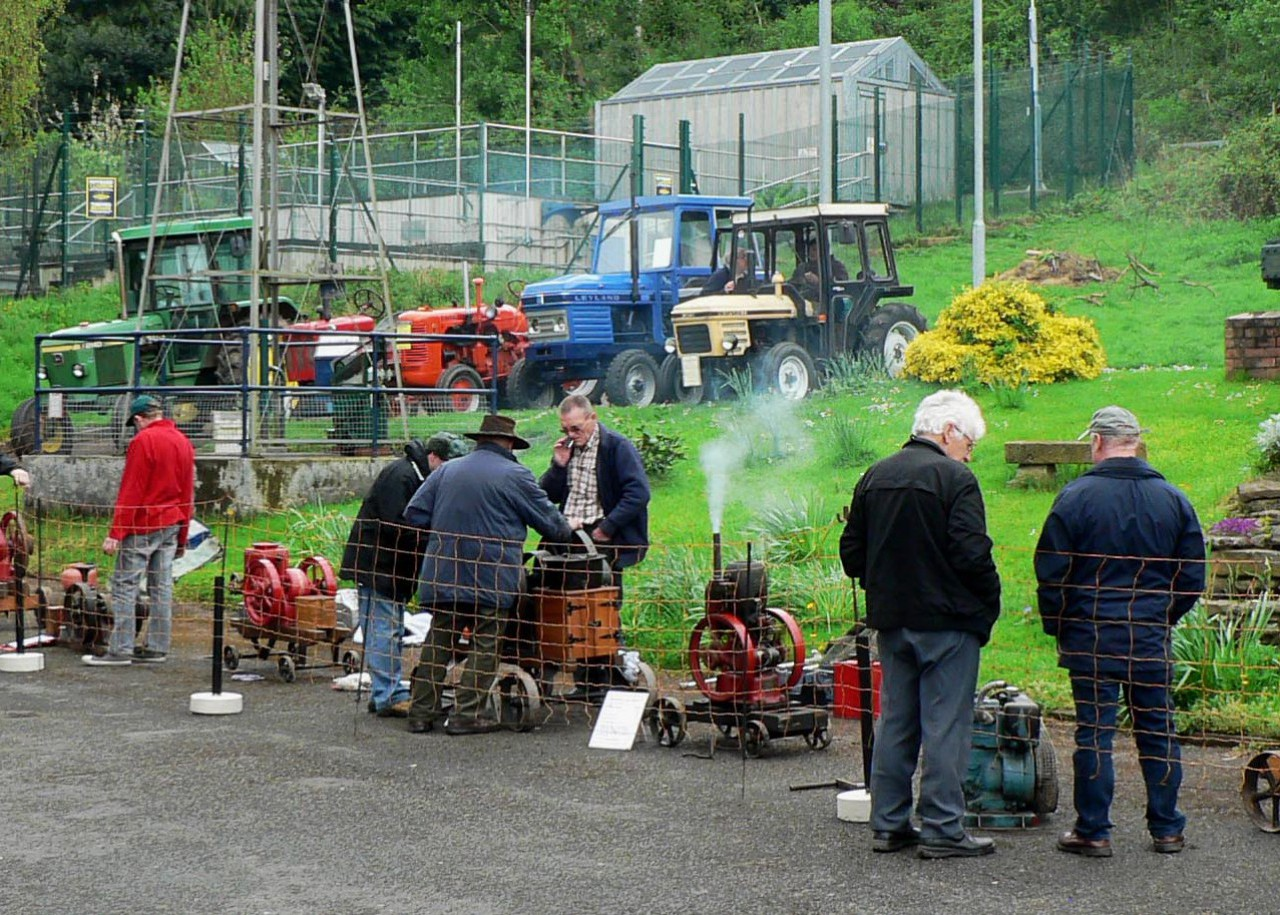 The Museum hosts numerous rallies throughout the year (see website for details) - here we see the Hereford & District Preservation Society who show their engines on our courtyard every year.