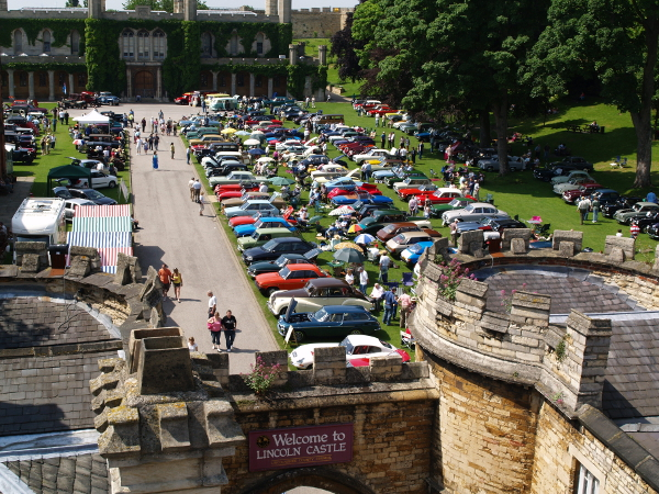 Lincoln Castle rally