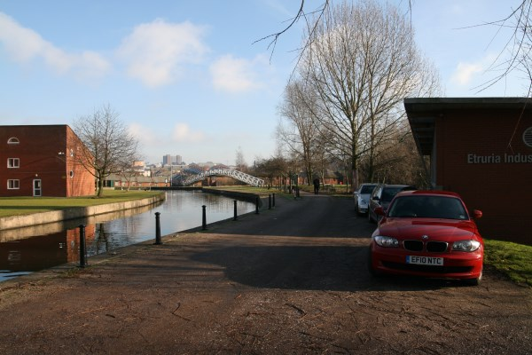Canal Bridge and Visitor Centre