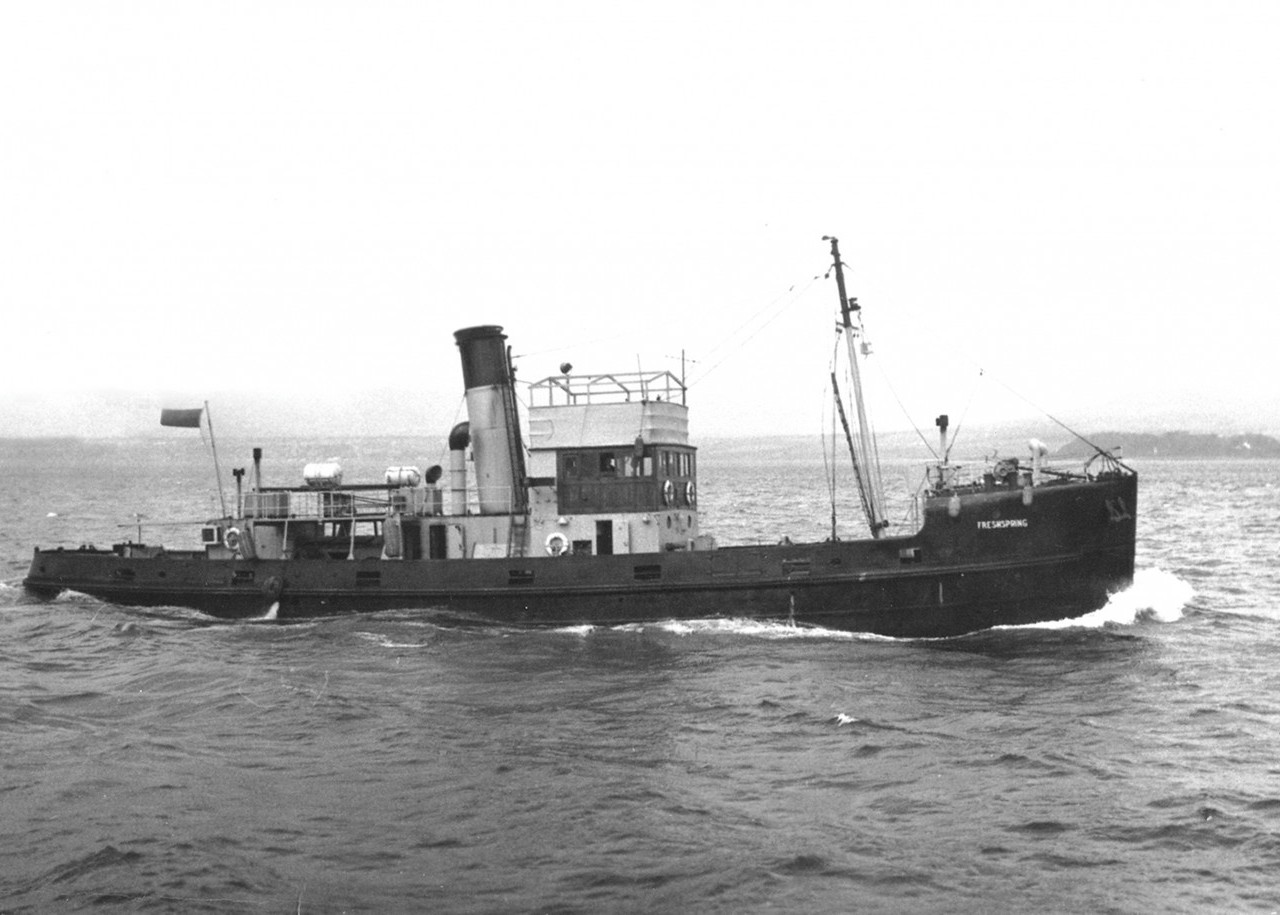 ss Freshspring in her working days.