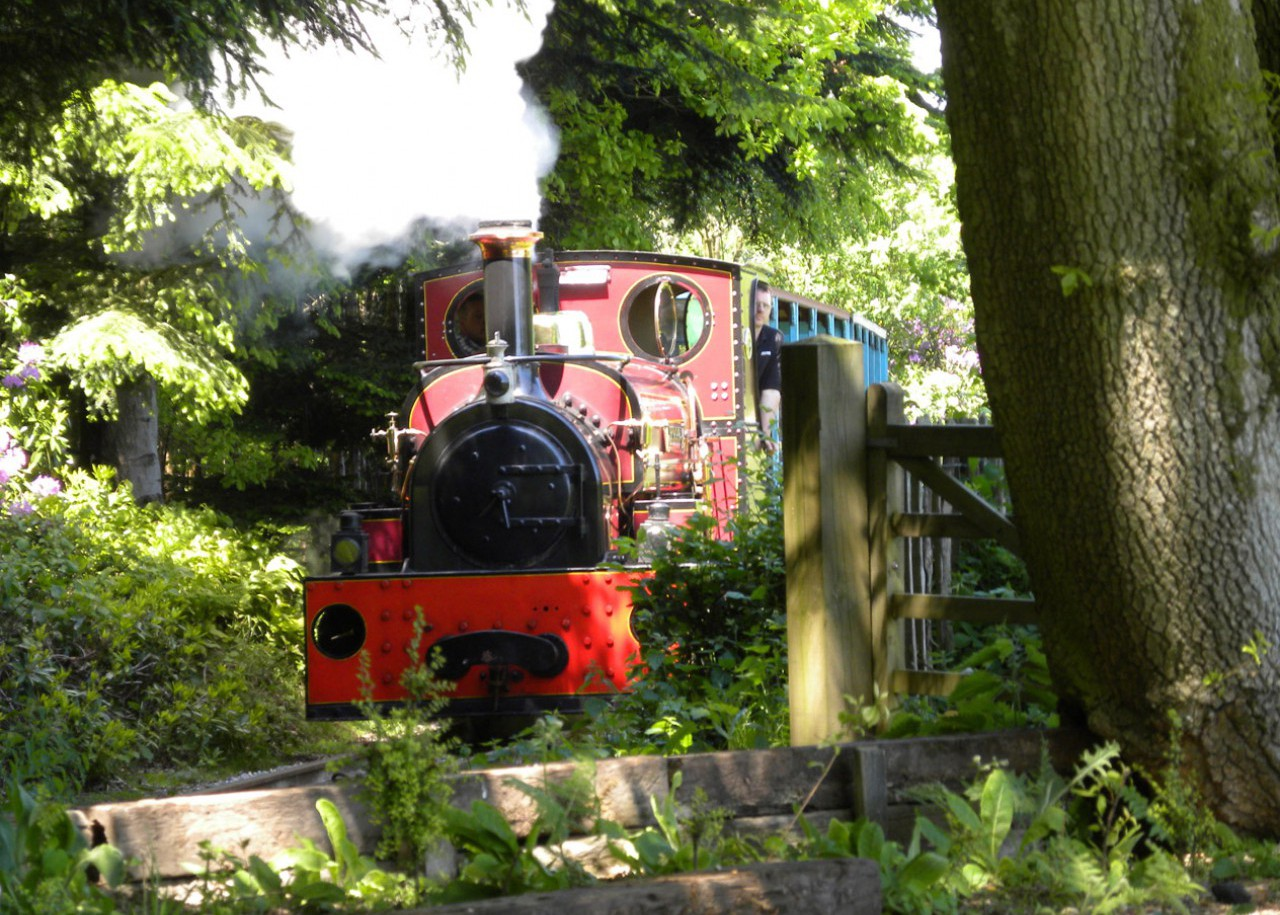 1895 Hunslet 0-4-0ST 'Jerry M' on the Quarry Railway