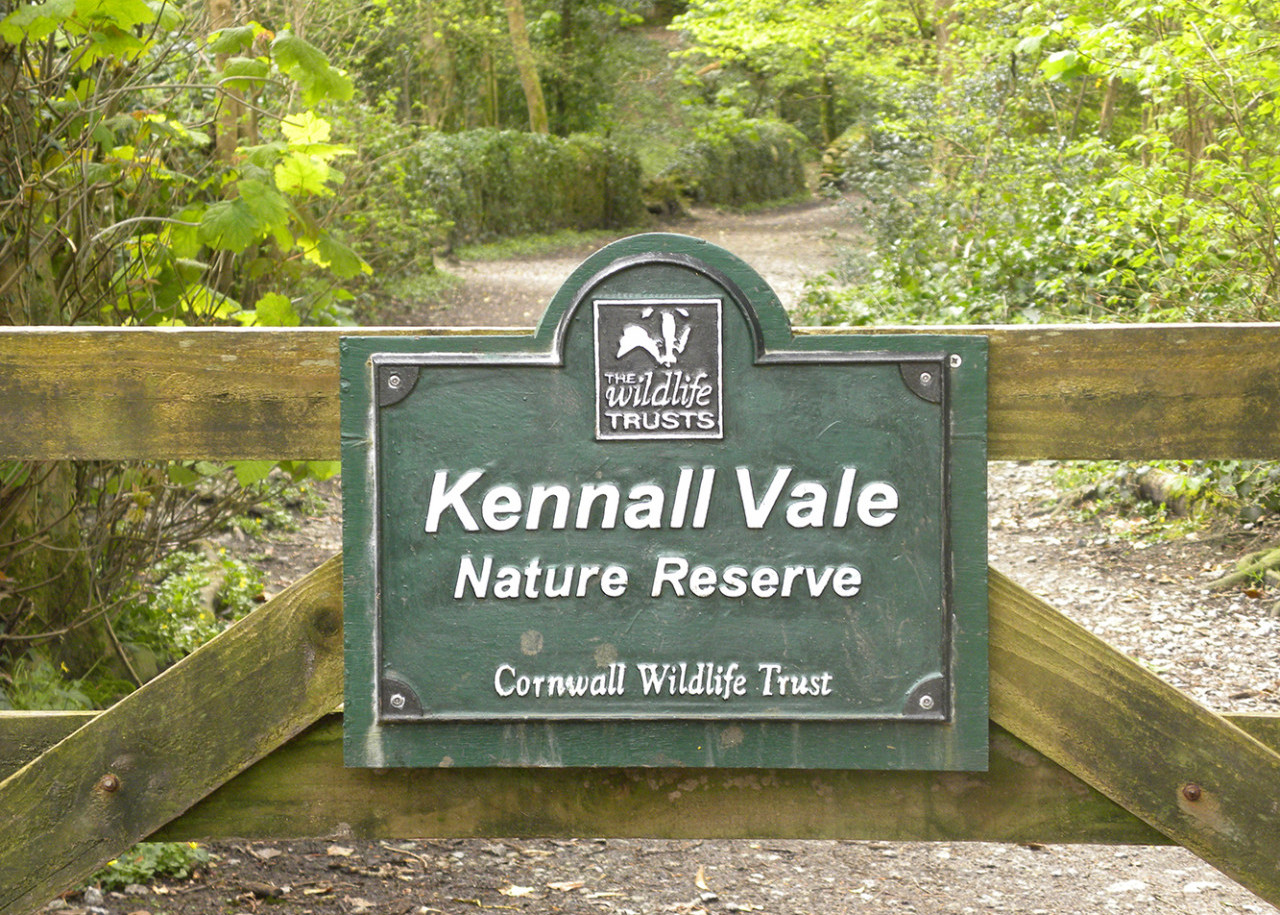 Entrance to Reserve