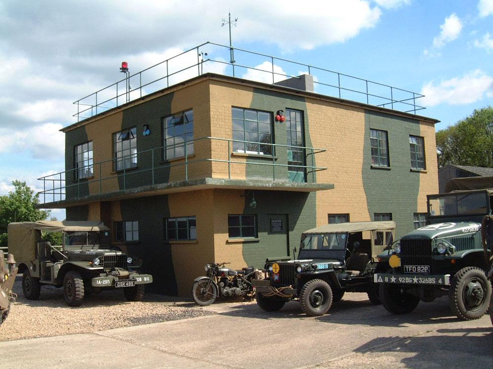 RAF Twinwood Control Tower