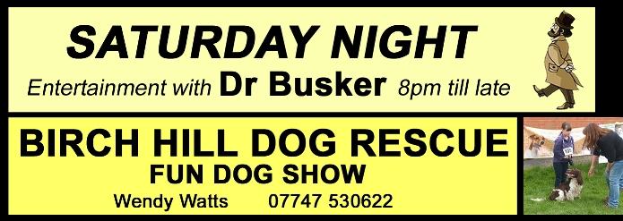 Stoke Prior Busker