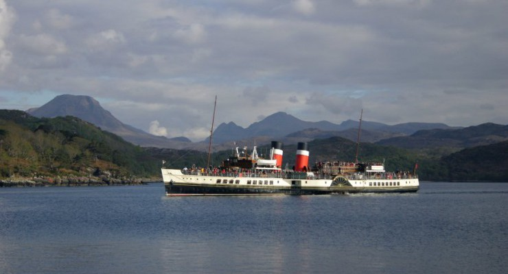 Paddle Steamer – Waverley