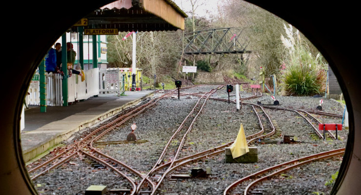Drumawhey Junction Station from the tunnel