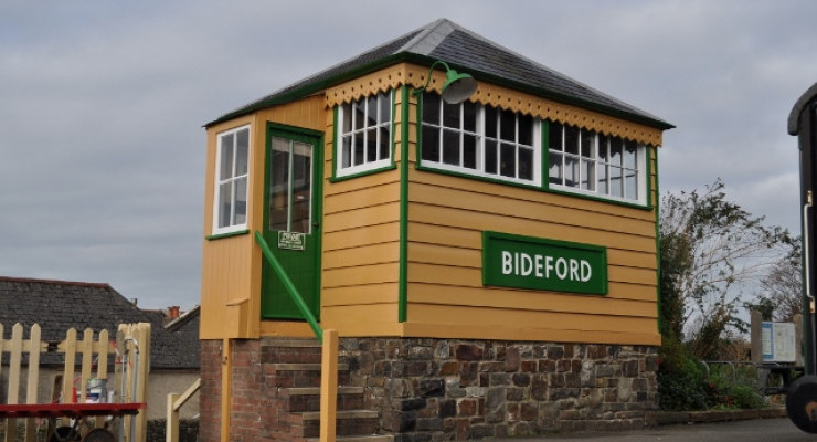 The replica LSWR signal box