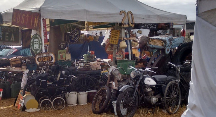 Crank-up & Vintage Day with Jumble