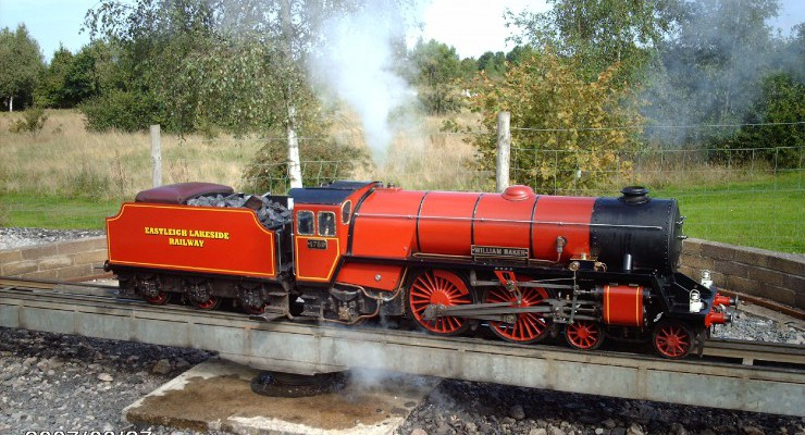 Small Engines Visiting Loco Weekend