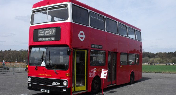 Brooklands on the Buses