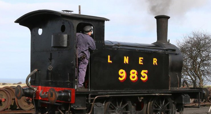 Our guest loco for the season will be the Y7 giving us 4 locos based at Brockford.