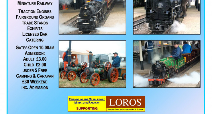 Steam Rally Weekend