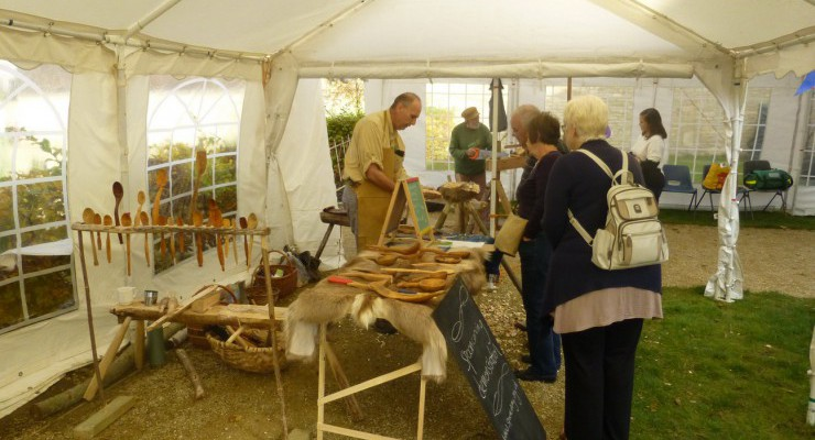 Woodcrafts at Combe