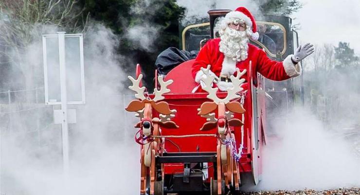 Steam Trains to Santa