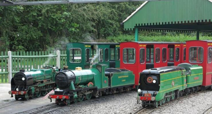 Big Engines Visiting Loco Weekend