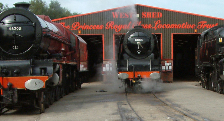The Princess Royal Class Locomotive Trust – West Shed