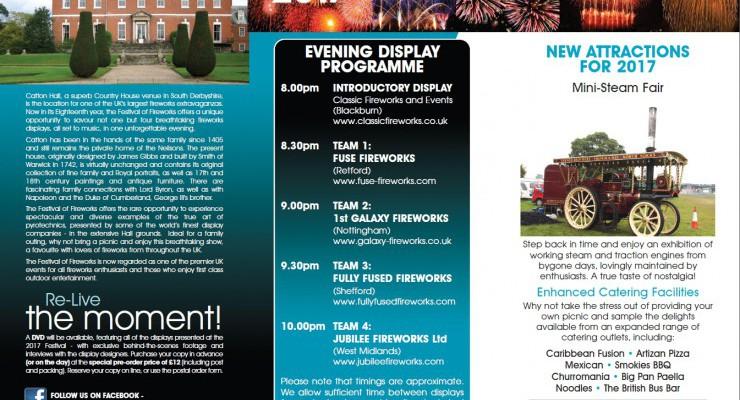 Festival of Fireworks & Steam Rally
