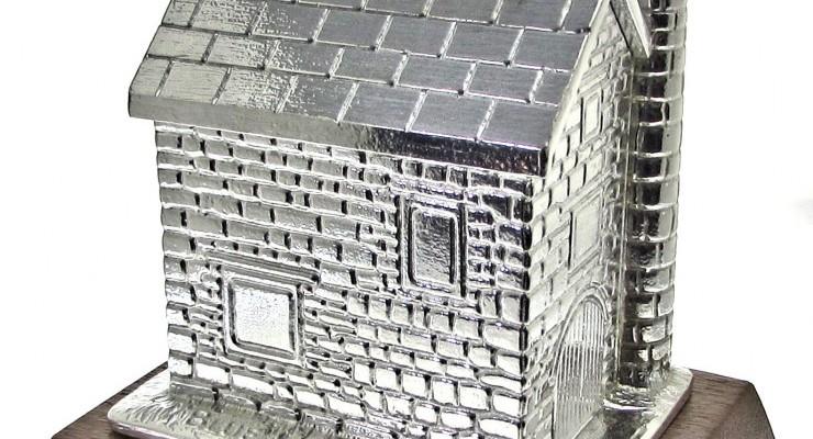 Cornish mine house money box.