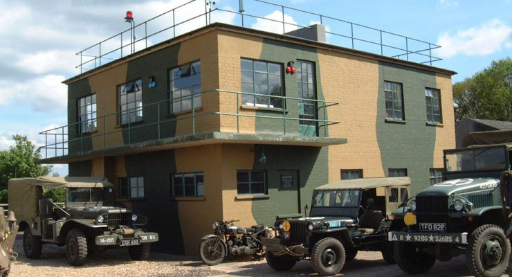 RAF Twinwood Control Tower
